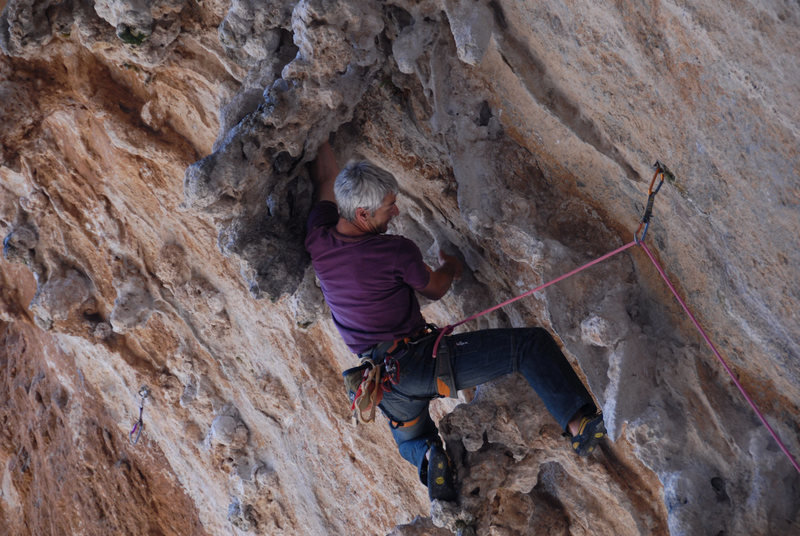 Rock Climbing Photo: on sighting DNA