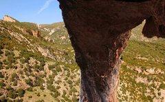 Rock Climbing Photo: Trying my dream climb... worth the world travel