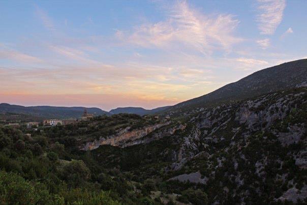 Rodellar at Sunset