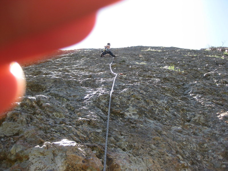 Rock Climbing Photo: mule hollow wall BCC