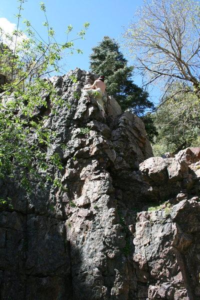 Rock Climbing Photo: beach ball crag