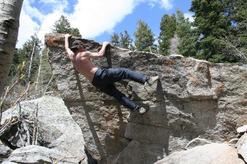 Rock Climbing Photo: white pine north