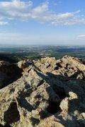 Rock Climbing Photo: Summit ridge pools.
