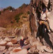 Rock Climbing Photo: Fun routes.