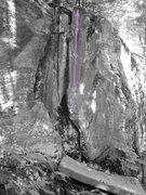 Rock Climbing Photo: I Against I