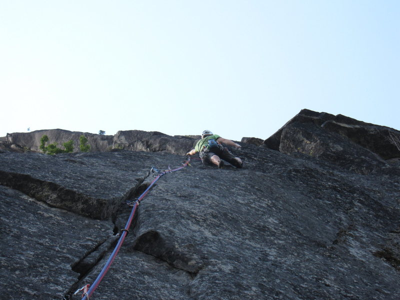 Rock Climbing Photo: The Psychopath pitch.