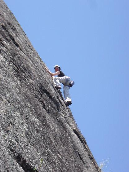 Rock Climbing Photo: Climbing at Bishop's Peak.