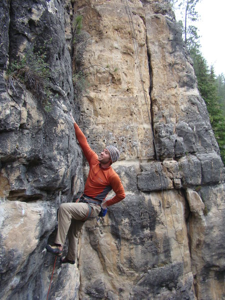 Lee makes this look easy.<br> <br> Pabst Blue Ribbon. Booze Wall.<br> <br> The Danks. Spearfish Canyon.<br> <br> Two drink minimum.