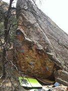 Rock Climbing Photo: Broke Down Palace beta.