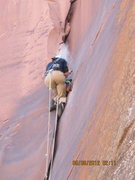 Rock Climbing Photo: Drillin'