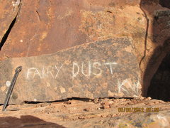 Rock Climbing Photo: Fairy Dust.