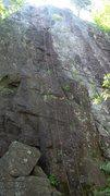 Rock Climbing Photo: Left side Spindrift Wall 5.6-5.3