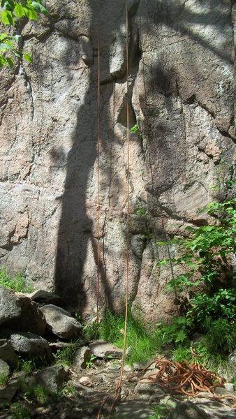 Rock Climbing Photo: Base of Neruda 5.7+