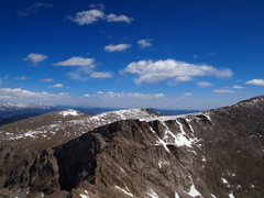 The Sawtooth from Mt. Bierstadt.