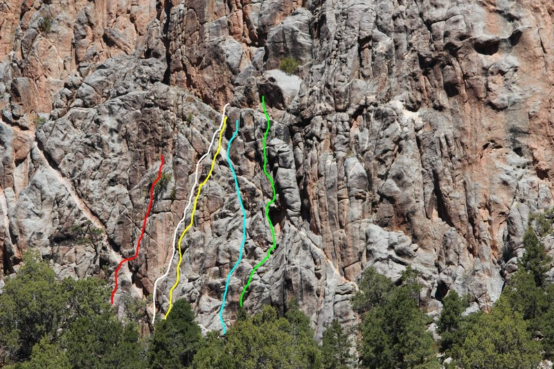 Rock Climbing Photo: Red- 84.1% Eclipse of the Heart (The Eclipse Route...