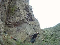 Rock Climbing Photo: Go-Pro sequence photo, Venture Capital.