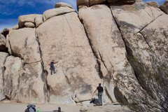 Rock Climbing Photo: Top Roping Profundity. 2004. Photo By Jeff Laina.