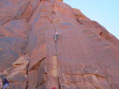 Rock Climbing Photo: Hannah looking good