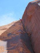 Rock Climbing Photo: a long as way up