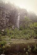 Rock Climbing Photo: Waterfall Spring 2012