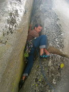 Rock Climbing Photo: Nathan Fitzhugh  5-27-12