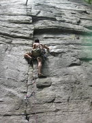 Rock Climbing Photo: I got a red c3 in as my first piece, which wasn't ...