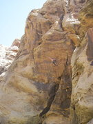 Rock Climbing Photo: Streeeetch!