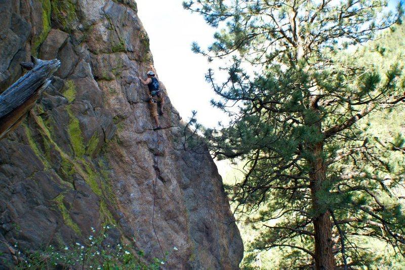 Rock Climbing Photo: Mary's Trick