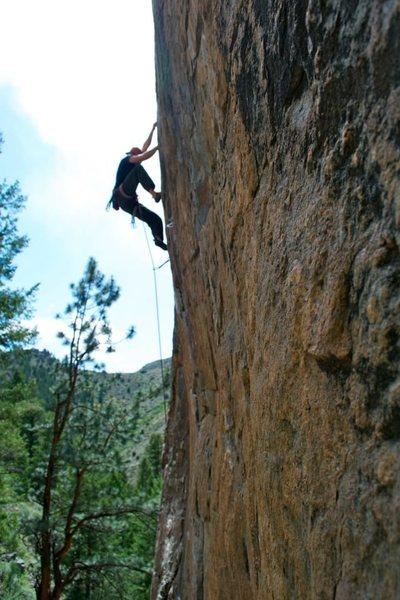 Rock Climbing Photo: Mikey.