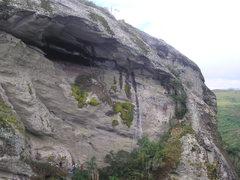 Rock Climbing Photo: Pedra do Leao / RS  Me roubaram