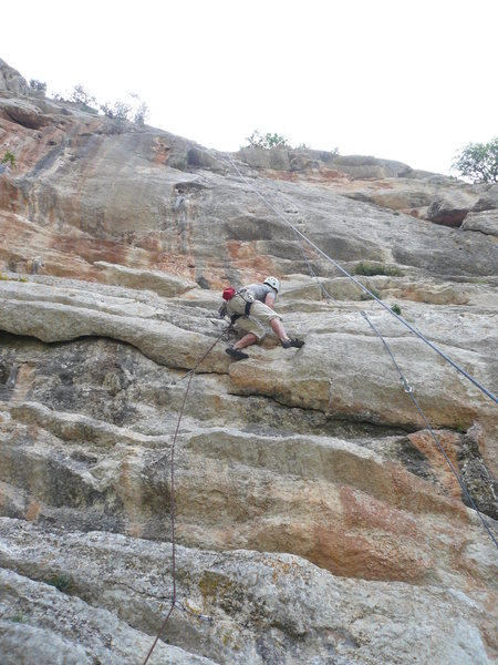 Rock Climbing Photo: Mid section