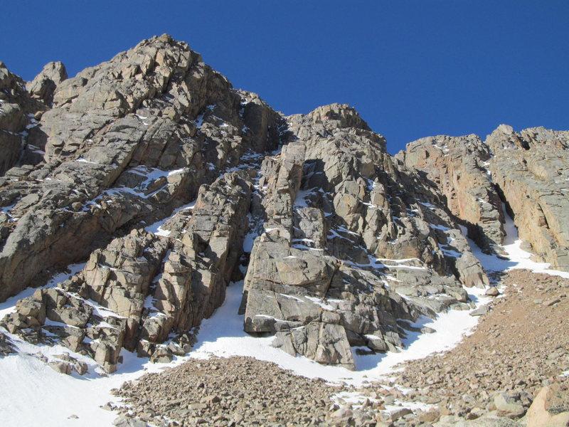 Rock Climbing Photo: Mini Micro and Snorkmaiden's Surprise.