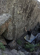 Rock Climbing Photo: Standing below the amazing 'Million Dollar Boulder...