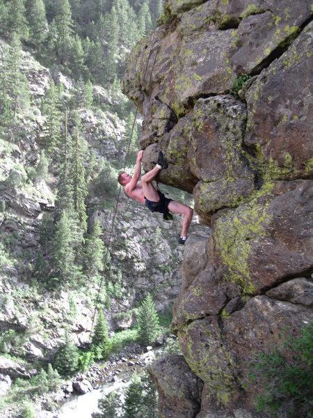 Rock Climbing Photo: Blaze on Lawsuit.