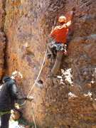 Rock Climbing Photo: El Rito Balls to the Wall