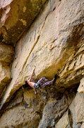 Rock Climbing Photo: having way too much fun on Tsunami