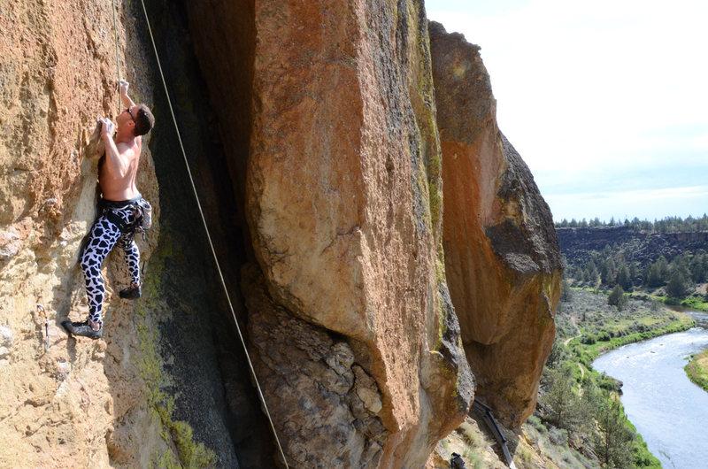Rock Climbing Photo: Joe, styling Modern Zombie