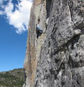 Rock Climbing Photo: Member of the FA party sendin in 2012.