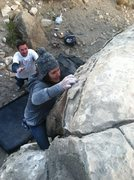 Rock Climbing Photo: MK at New Joe's