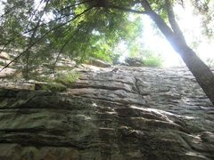Rock Climbing Photo: On Truancy Man (5.6 to the left of Truancy), but f...