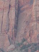 Rock Climbing Photo: The giant corner