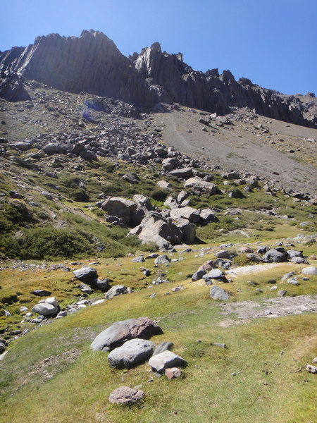 Rock Climbing Photo: The approach
