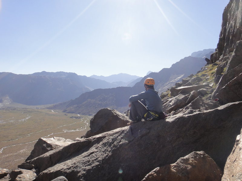 Rock Climbing Photo: Enjoying the views