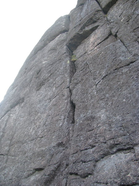 Rock Climbing Photo: Bad picture but, Ranger Danger on the left leading...