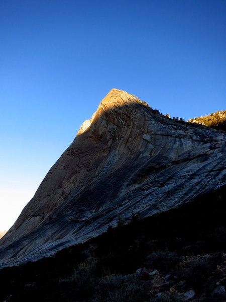 Rock Climbing Photo: Alpenglow on Charlotte Dome.   Photo: Corey Gargan...