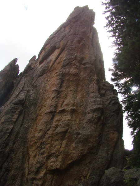 East face of Rubiayat Spire.