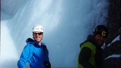 Rock Climbing Photo: Jack and I chilling before the final pitch on Stai...