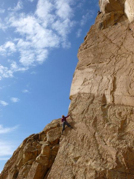 Rock Climbing Photo: Cool Air