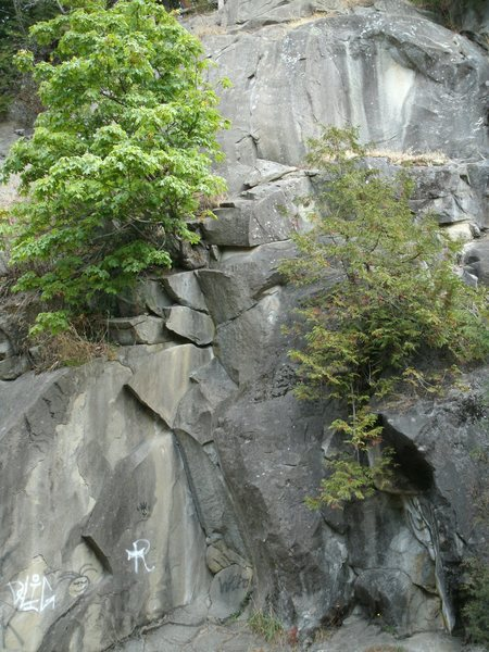 Rock Climbing Photo: The Dihedral Area
