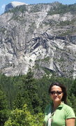 Rock Climbing Photo: View from Glacier Point Apron, May 27